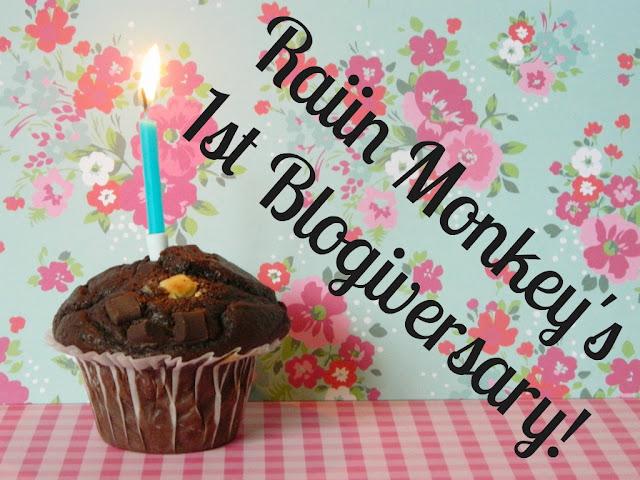 Raiin Monkey 1st Blogiversary