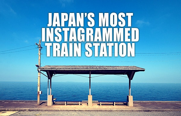 Most Instagrammed Train Station in Japan