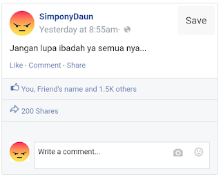 Cara Membuat Status / Postingan FB Palsu