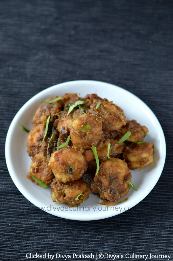 Prawn fry recipe, shrimp fry