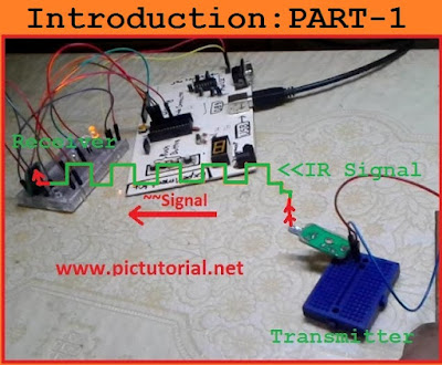 IR (Infrared) Communication Between Two Microcontroller -Step By Step Tutorial : Part-1