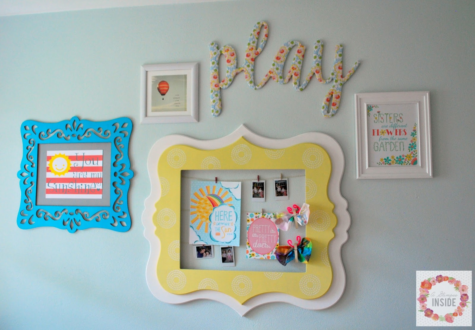 Home Decor: Picture Hanging Strips - The Scrap Shoppe