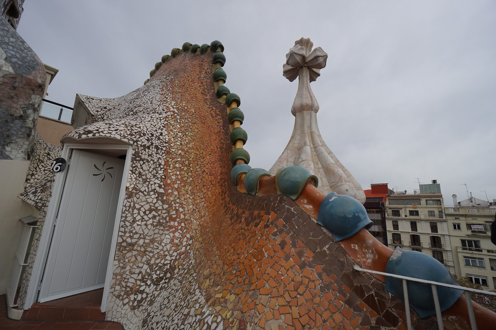 カサ・バトリョ(Casa Batlló) 貯水槽