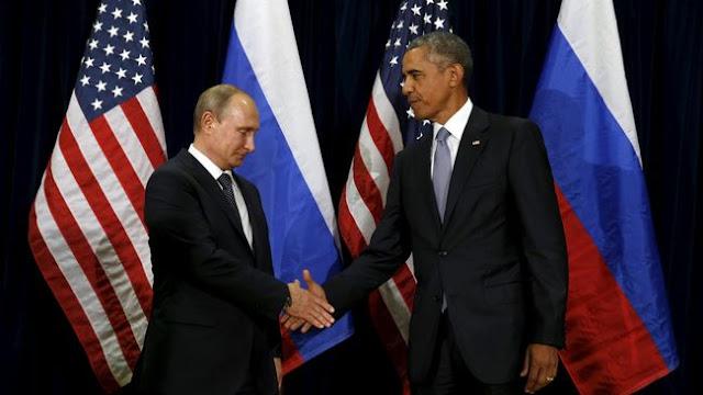 Obama - Putin Bicarakan Rencana Penarikan Militer dari Suriah