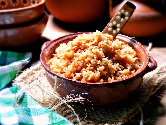 easy Mexican rice recipe - lacocinadeleslie.com