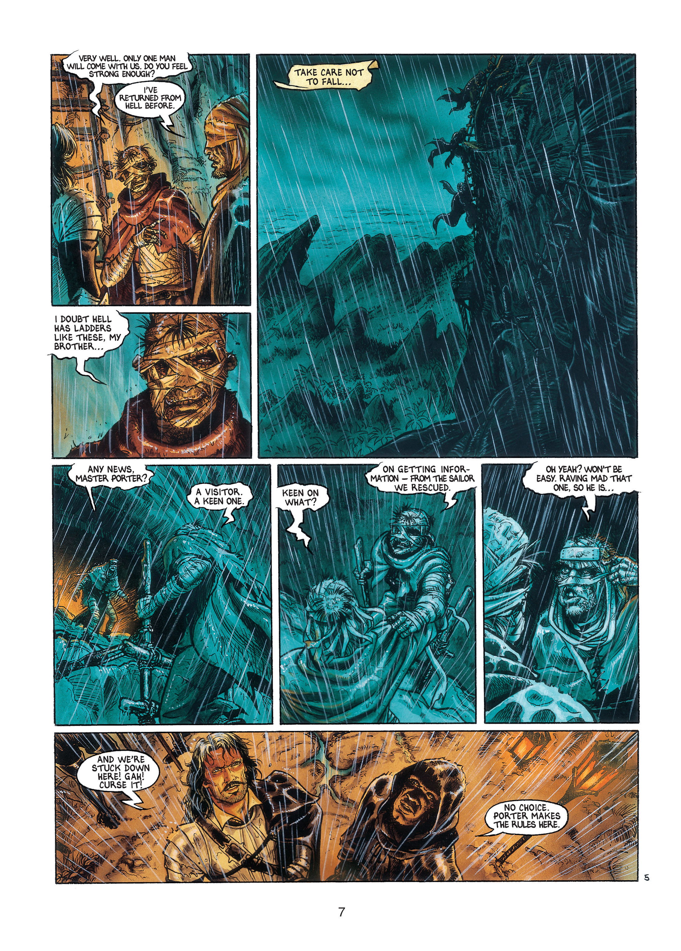 Read online Barracuda comic -  Issue #3 - 8