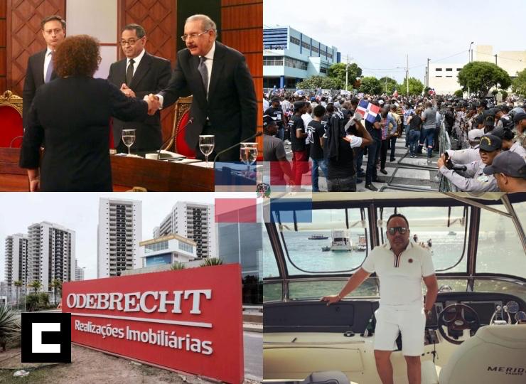 Los 14 sucesos que han puesto a prueba al gobierno dominicano en 2019