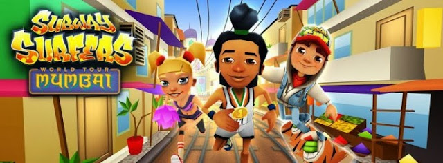 Subway Surfers v1.17.0  Mod Money مومباي مهكرة