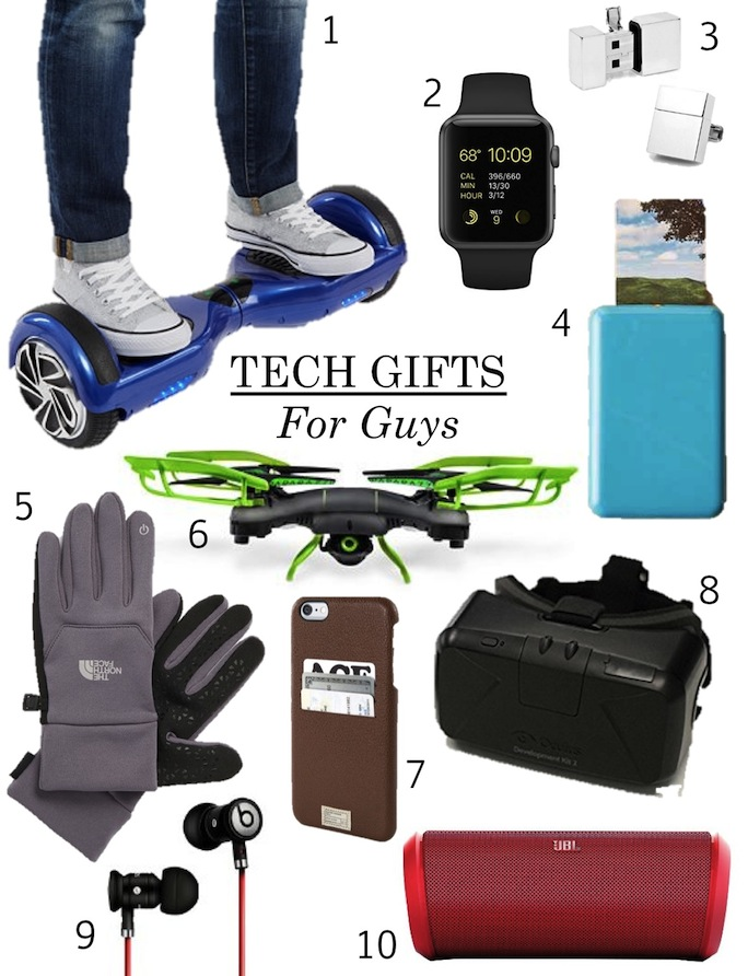 Gifts For Men Part - 32: Cool Tech Gifts For Guys