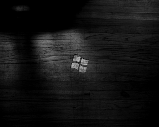 Fond d'écran noir