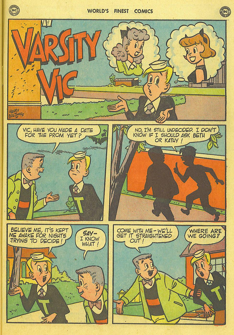 Read online World's Finest Comics comic -  Issue #49 - 58