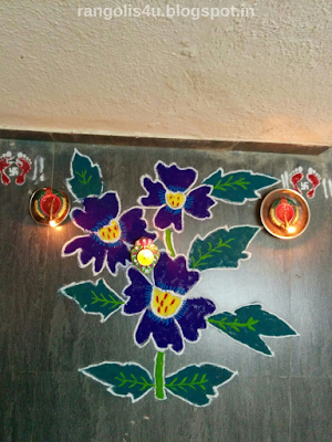 Flower Rangolis Collection