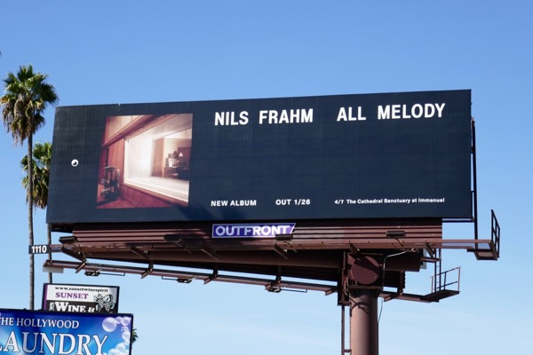 Nils Frahm All Melody billboard