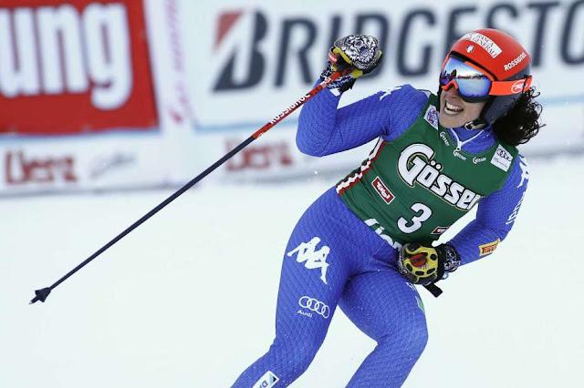 Federica Brignone Wins World Cup Giant Slalom in Lienz