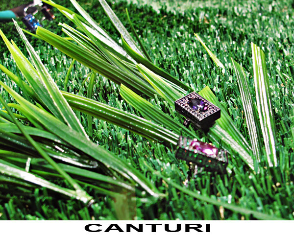 CANTURI Jewels on grass, Sydney Vogue Fashion's Night Out 2011