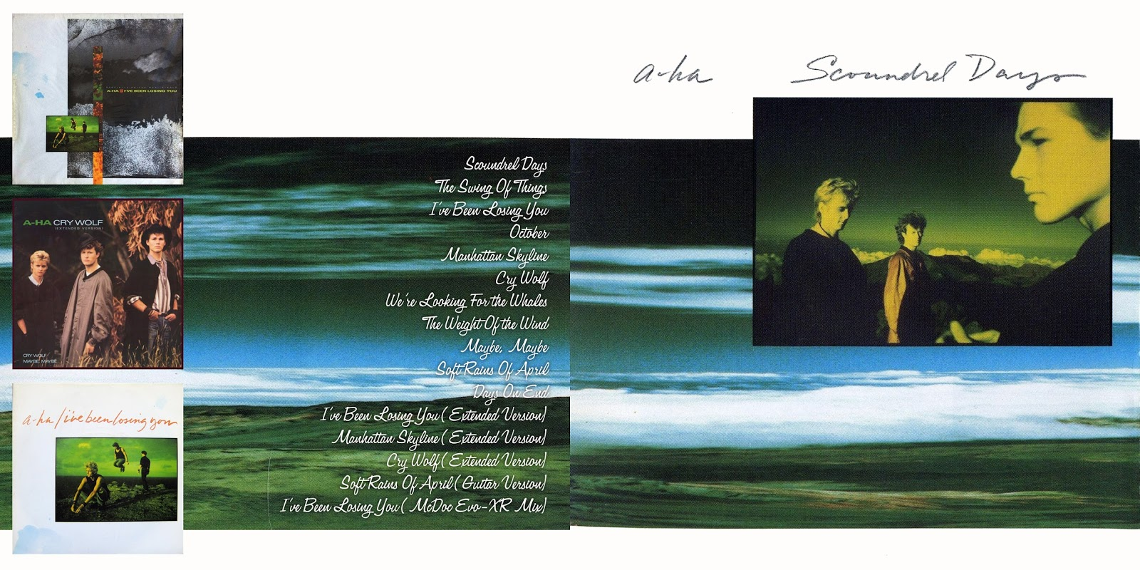 All the Air In My Lungs: A-ha - Scoundrel Days - 1986