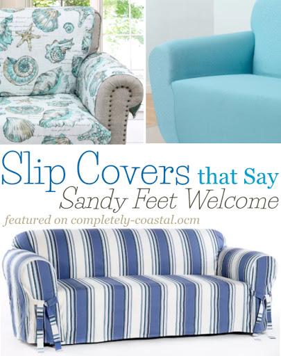 Blue Slip Covers
