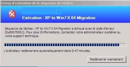 Microsoft Technology: 0x80070091 error while upgrading