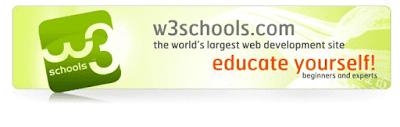 موقع-W3Schools-لتعلم-لغات-البرمجة