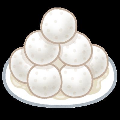 ラスグッラのイラスト(お菓子)