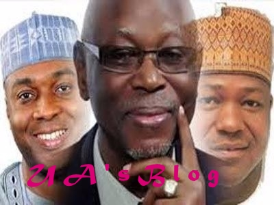 BREAKING: Oyegun Storms Senate For APC Caucus Meeting