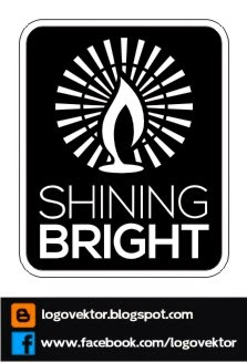 SHINING BRIGHT - Logo Vektor