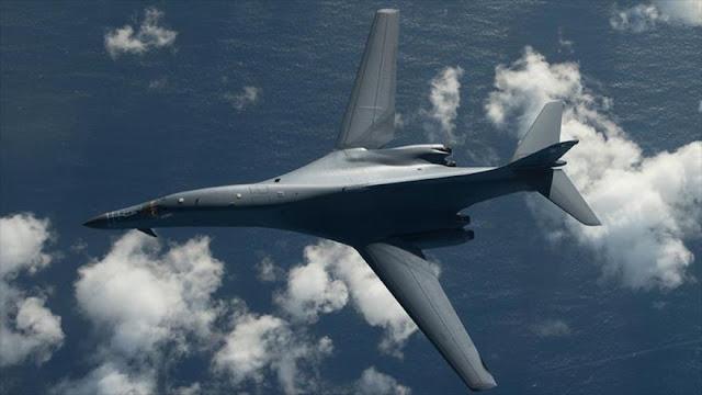 Bombarderos de EEUU vuelan cerca de costa de Corea del Norte