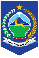 Lambang / Logo propinsi Nusa Tenggara Barat / NTB