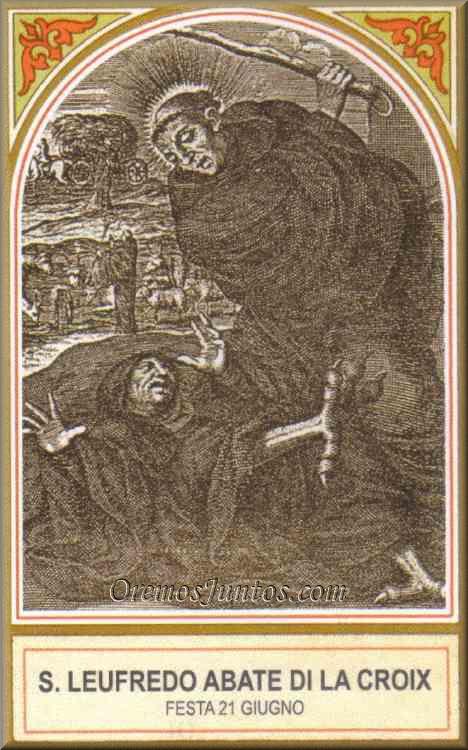 sveti Leutfrid - opat