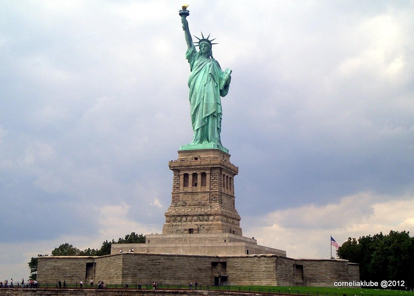 Liberty Island New York New Jersey
