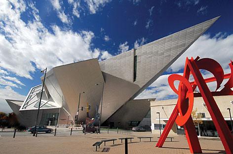 Transparence Denver Art Museum