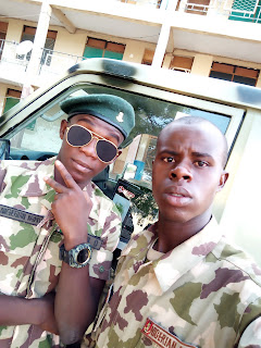 The Military Blogger Show off New Look With Armour first Son 4