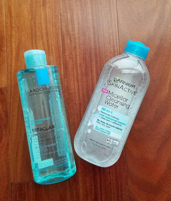 La Roche Posay vs Garnier Micellar Water