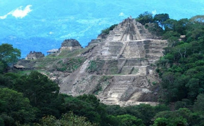 Pirâmide desconhecida é encontrada no México