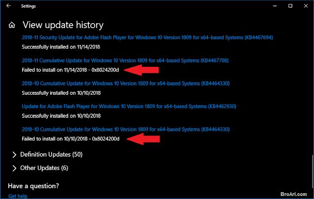 Mengatasi Windows 10 Update Error