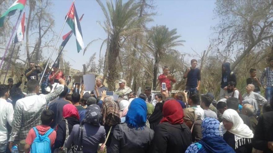 Sirios desplazados de Palmira regresan tras su reconstrucción