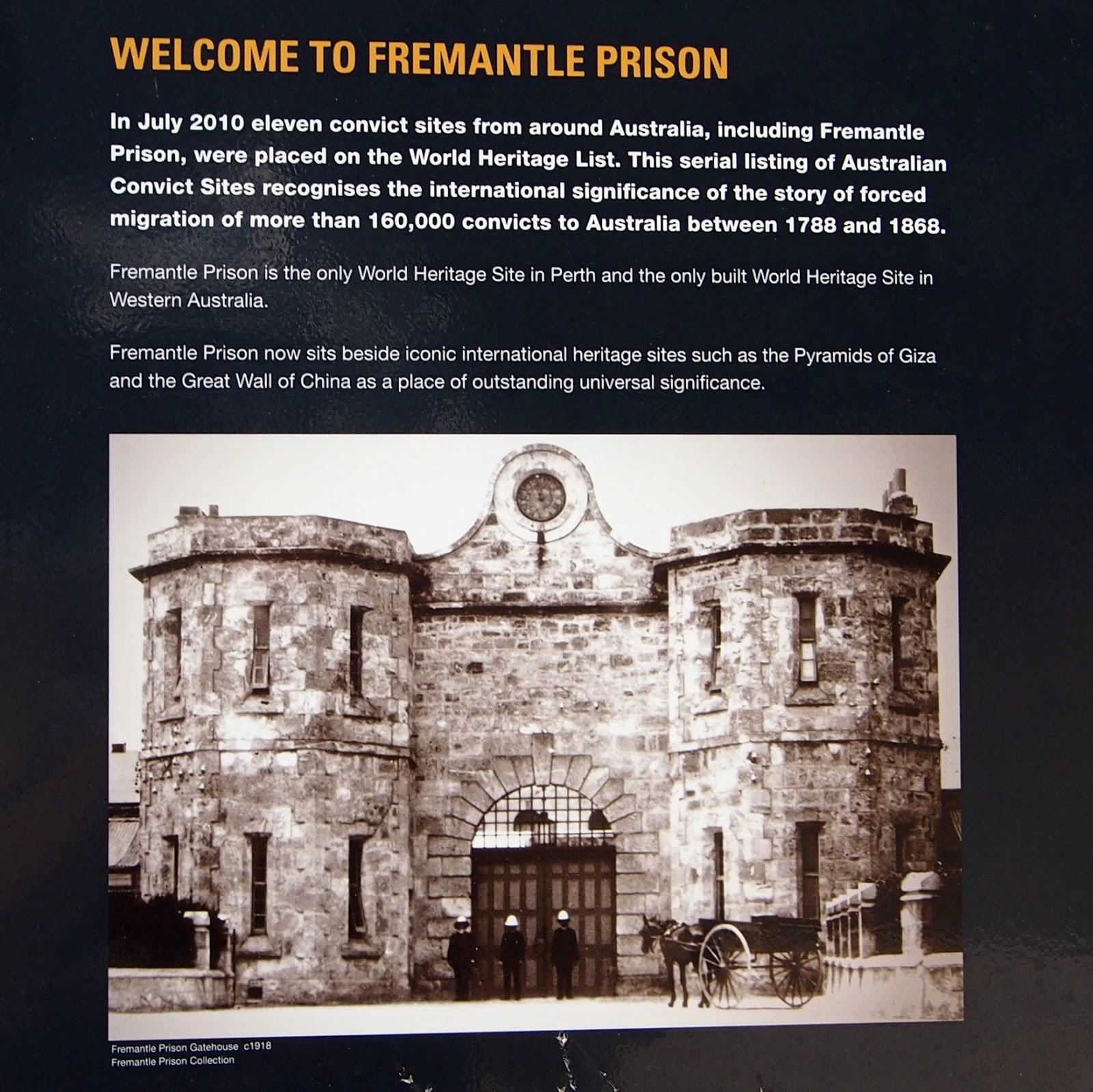 Fremantle Prison Torchlight Tour Times
