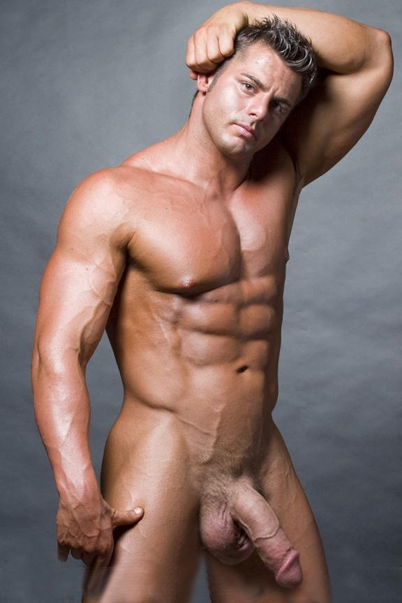 Gigantic Huge Meat Stunning Musclemen With Gargantuan Dicks-3913