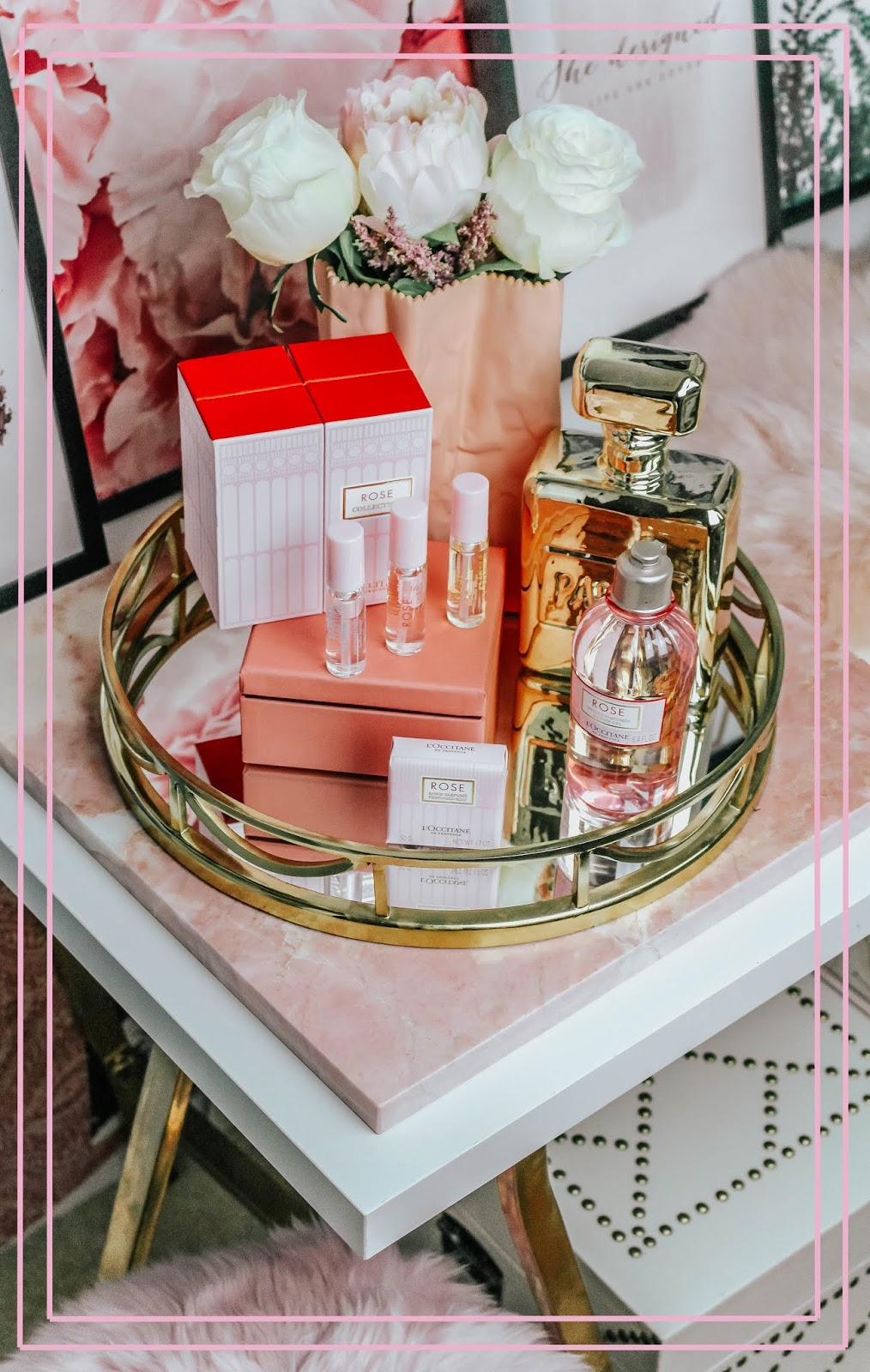 L'Occitane Rose Discovery Collection Blog Review
