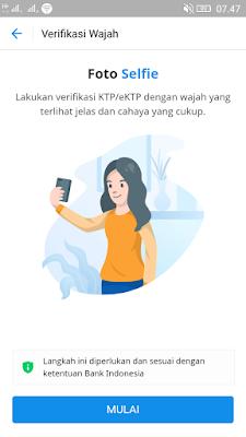 cara verifikasi akun dana android