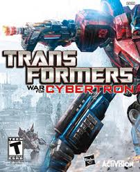 Game Transformers War For Cybertron cover