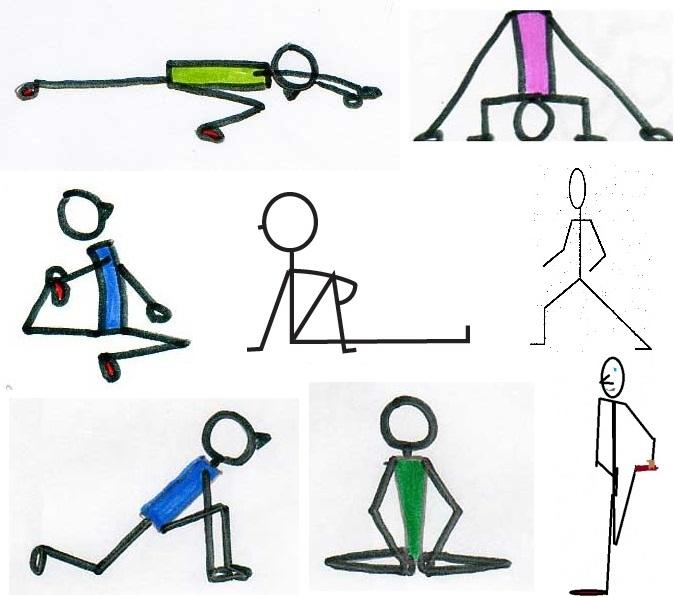 tight hip flexors medial knee pain
