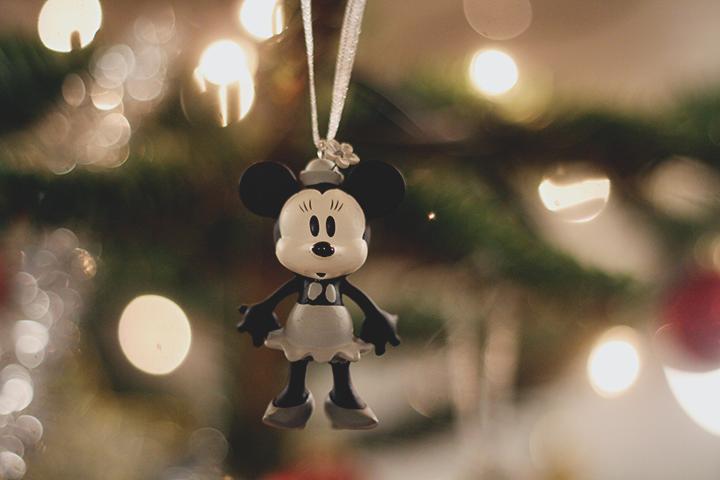 Vores første jule dating ornament