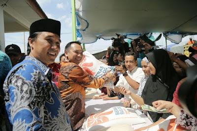 Gubernur Ridho Siapkan 10 Ton Beras untuk Operasi Pasar di Tulang Bawang