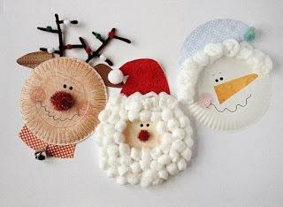 manualidades-navideñas-con-platos