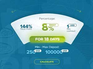 Инвестиционные планы Bitcolex 1