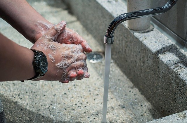 Frequent handwashing to prevent COVID-19