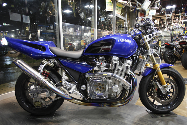 Planet Japan Blog: Yamaha XJR 1300 by Shabon Dama
