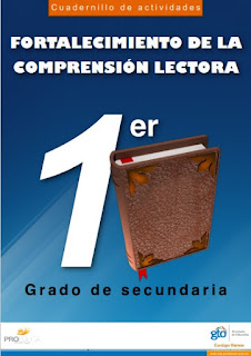 Cuadernillo de actividades comprensión lectora: Primero, Segundo y Tercer grado secundaria