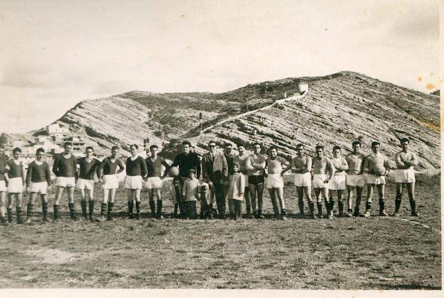 fotos antiguas, Beceite, Beseit, blanco y negro, b&n, blanco, negro, sepia, fútbol